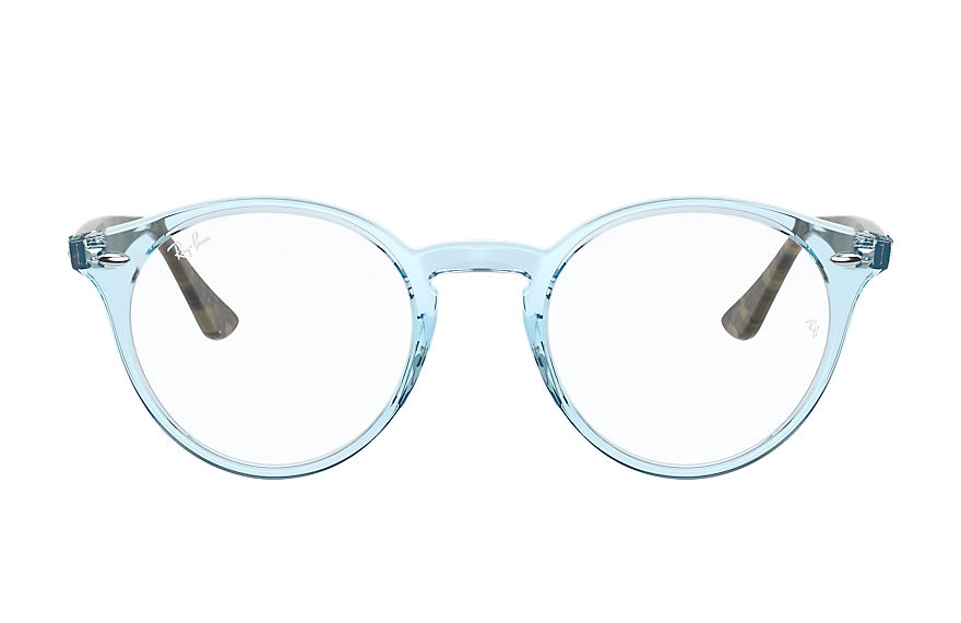 Ray-Ban  eyeglasses RX2180V UNISEX 004 rb2180v shiny light blue 8056597367585