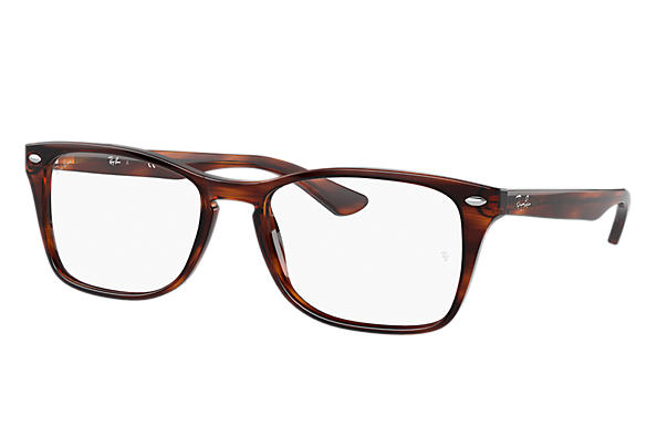 Ray-Ban Eyeglasses RB5228M Striped Tortoise