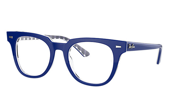 Ray-Ban 0RX5377-METEOR OPTICS Blue,Transparent; Blue,White OPTICAL
