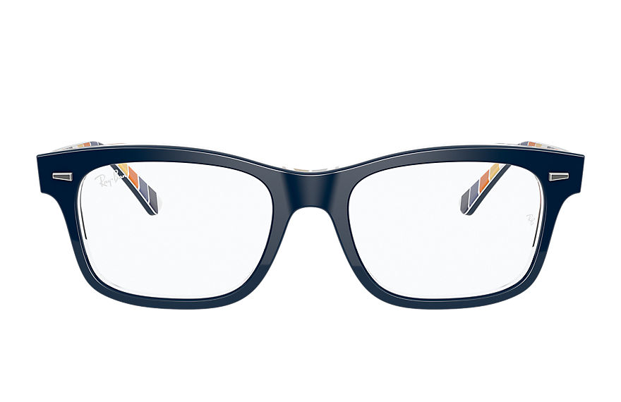 Ray-Ban  eyeglasses RX5383 UNISEX 003 burbank dark blue 8056597367912