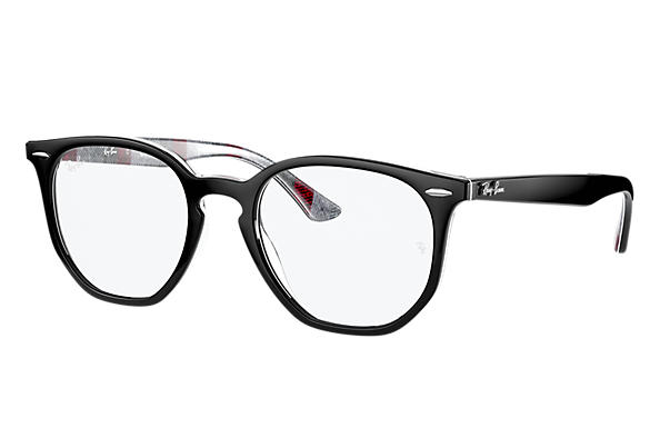 Ray-Ban Eyeglasses RB7151 HEXAGONAL OPTICS Black