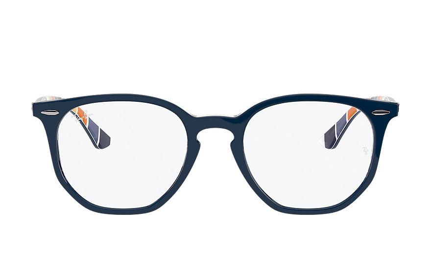 Ray-Ban  eyeglasses RX7151 UNISEX 003 rb7151 hexagonal optics dark blue 8056597368230