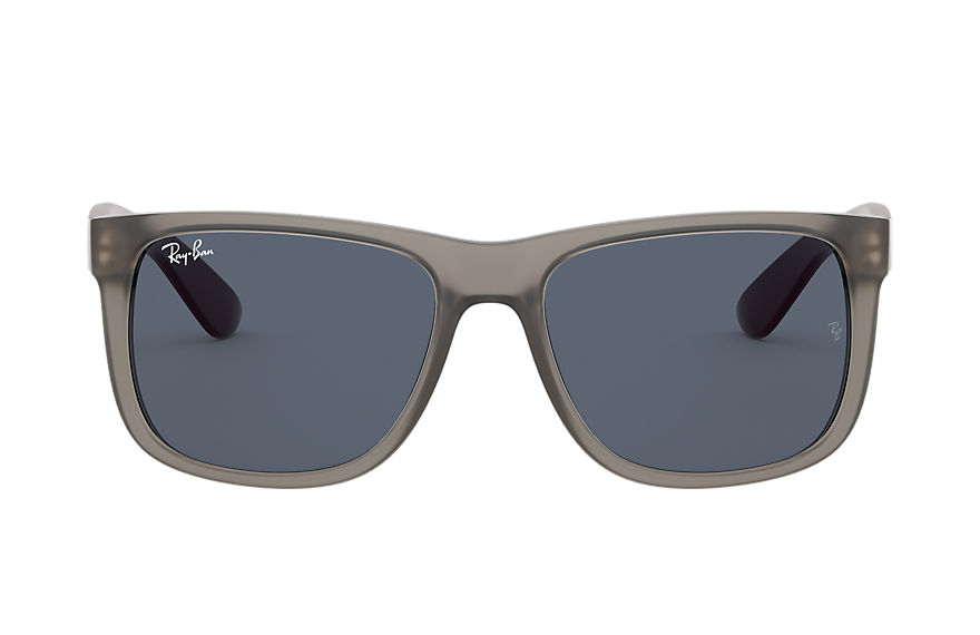 Ray-Ban  sunglasses RB4165F MALE 003 justin color mix low bridge fit transparent grey 8056597369299