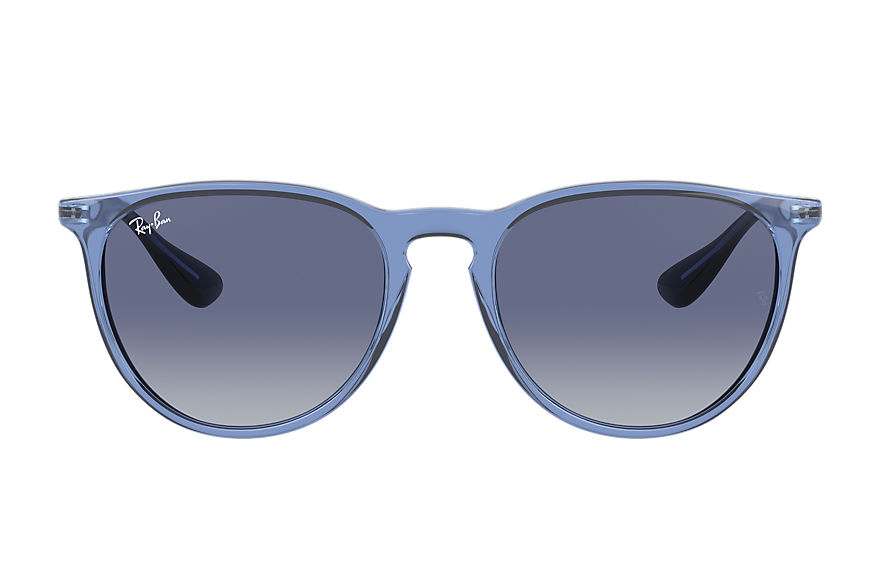 Ray-Ban  sonnenbrillen RB4171 FEMALE 003 erika color mix shiny transparent blue 8056597369398