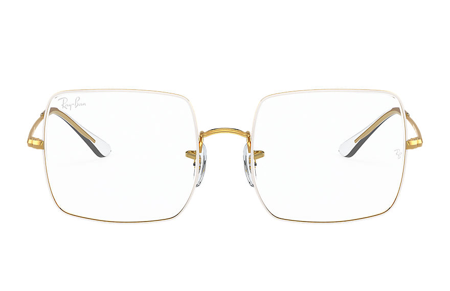 Ray-Ban Eyeglasses SQUARE 1971 OPTICS White