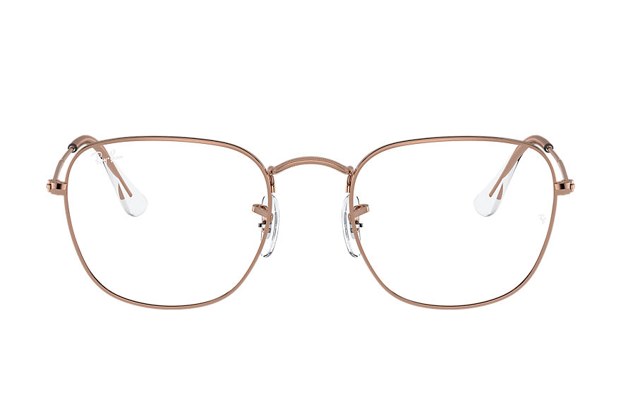Ray-Ban  eyeglasses RX3857V UNISEX 001 frank optics shiny copper 8056597369473
