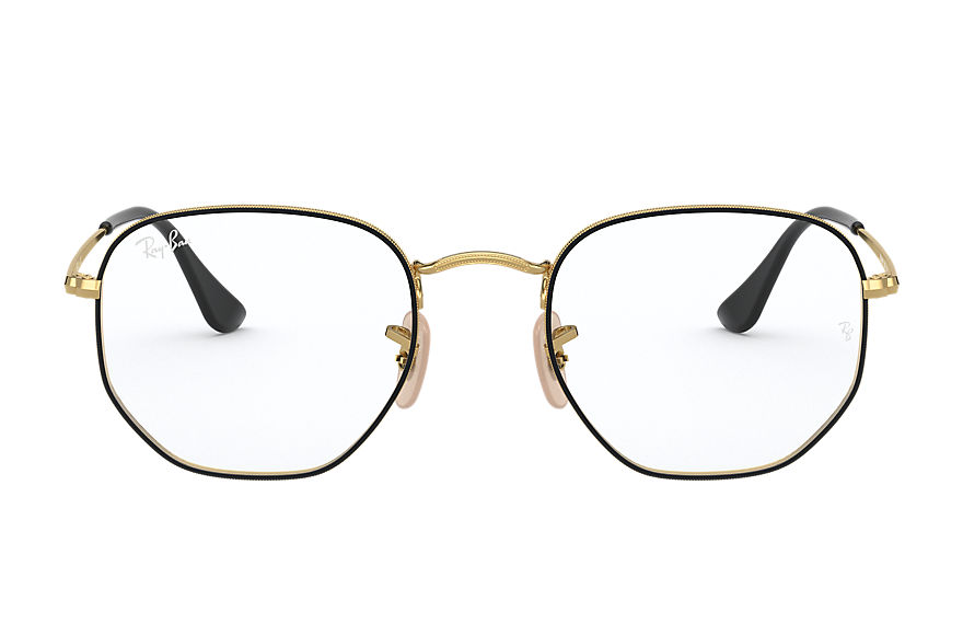Ray-Ban  eyeglasses RX6448F UNISEX 003 hexagonal optics gold 8056597370066