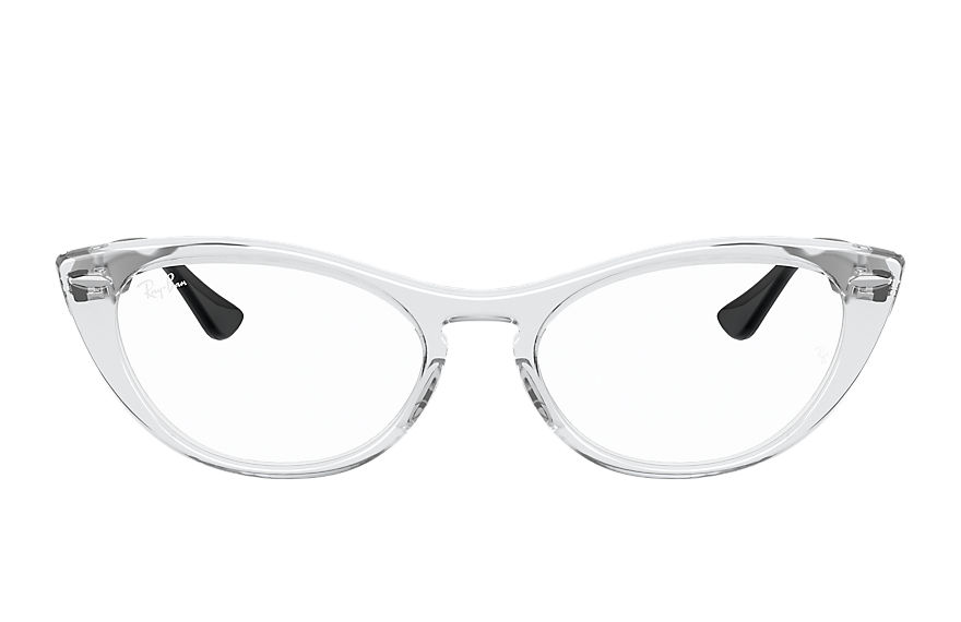 Ray-Ban Eyeglasses NINA OPTICS Shiny Transparent