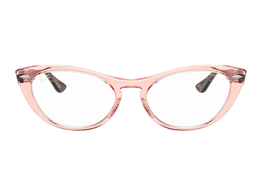 Ray-Ban  eyeglasses RX4314V FEMALE 001 nina optics transparent pink 8056597370561