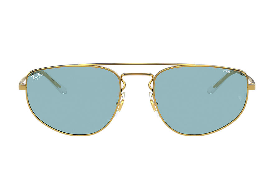 Ray-Ban  sunglasses RB3668 UNISEX 007 rb3668 shiny gold 8056597370776