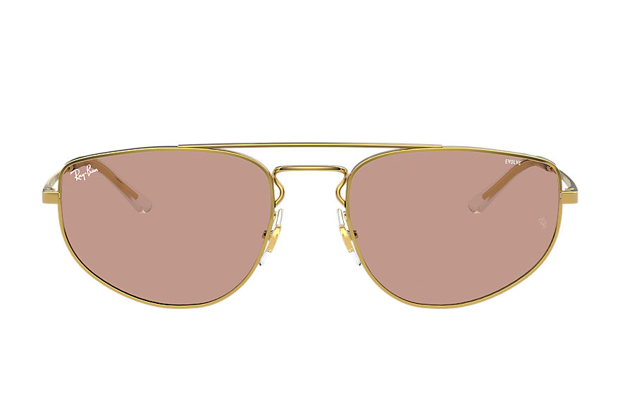 Ray-Ban  sunglasses RB3668 UNISEX 002 rb3668 shiny gold 8056597370790