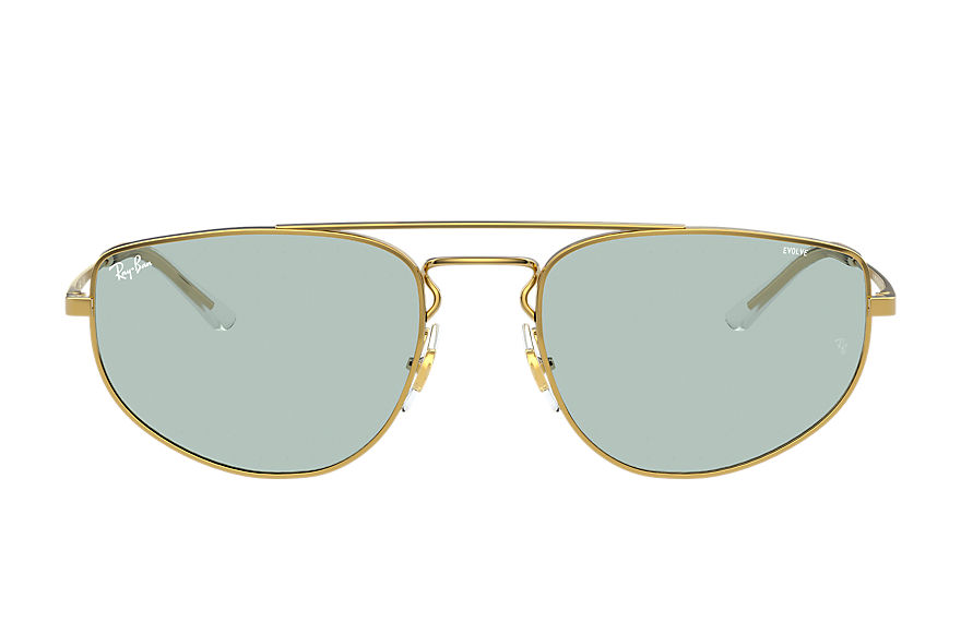 Ray-Ban  sunglasses RB3668 UNISEX 004 rb3668 shiny gold 8056597370806