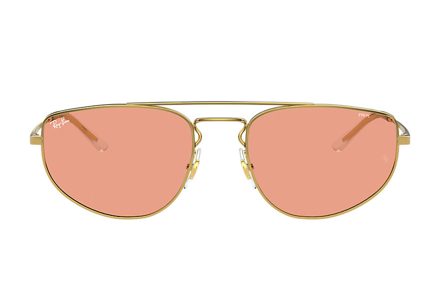 Ray-Ban  sunglasses RB3668 UNISEX 004 rb3668 shiny gold 8056597370813