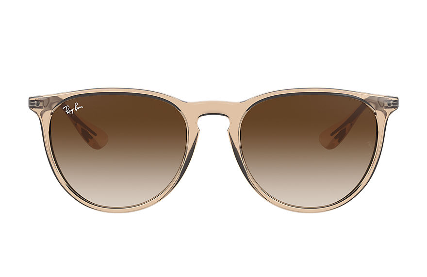 Ray-Ban  sunglasses RB4171F FEMALE 002 erika color mix shiny transparent brown 8056597371285