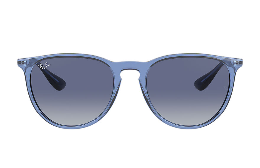 Ray-Ban  sunglasses RB4171F FEMALE 003 erika color mix shiny transparent blue 8056597371308