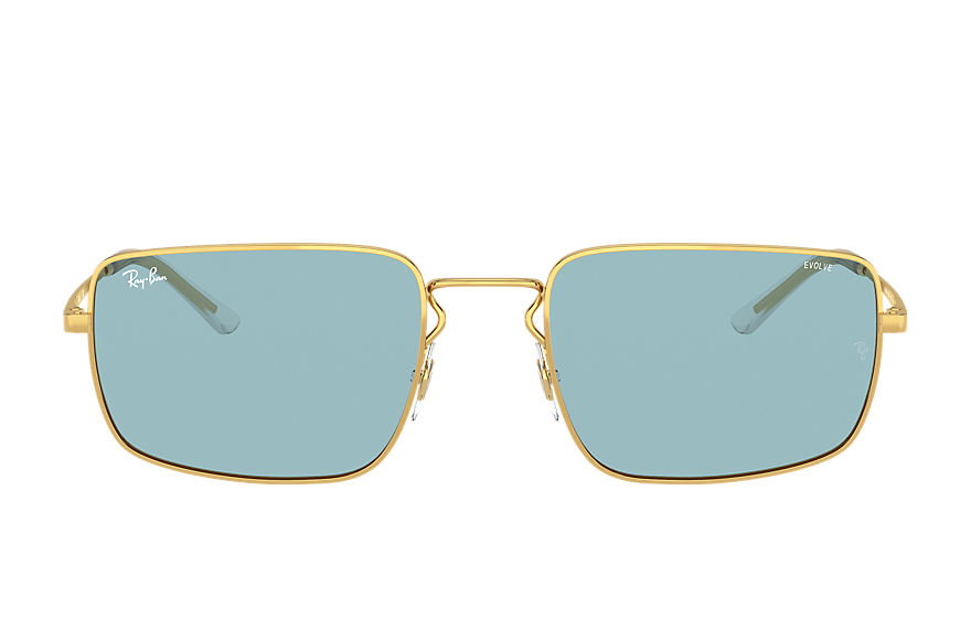 Ray-Ban  sunglasses RB3669 UNISEX 004 rb3669 shiny gold 8056597371353