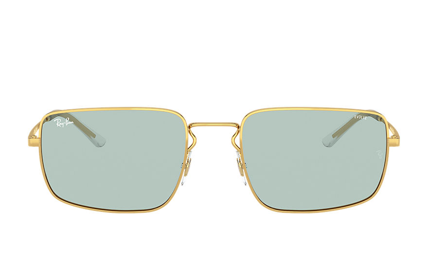 Ray-Ban  sunglasses RB3669 UNISEX 001 rb3669 shiny gold 8056597371384