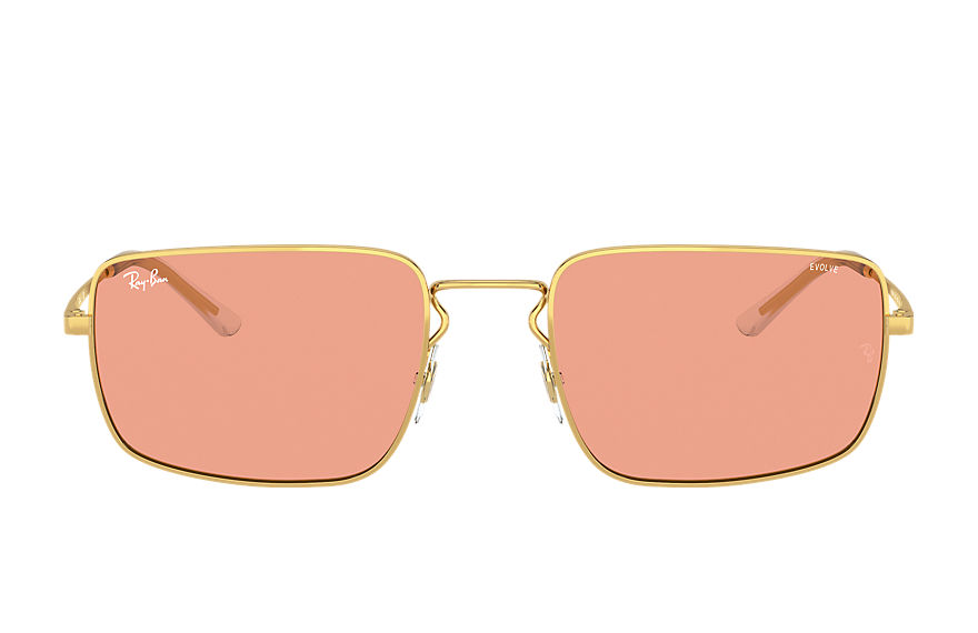 Ray-Ban  sunglasses RB3669 UNISEX 003 rb3669 shiny gold 8056597371391