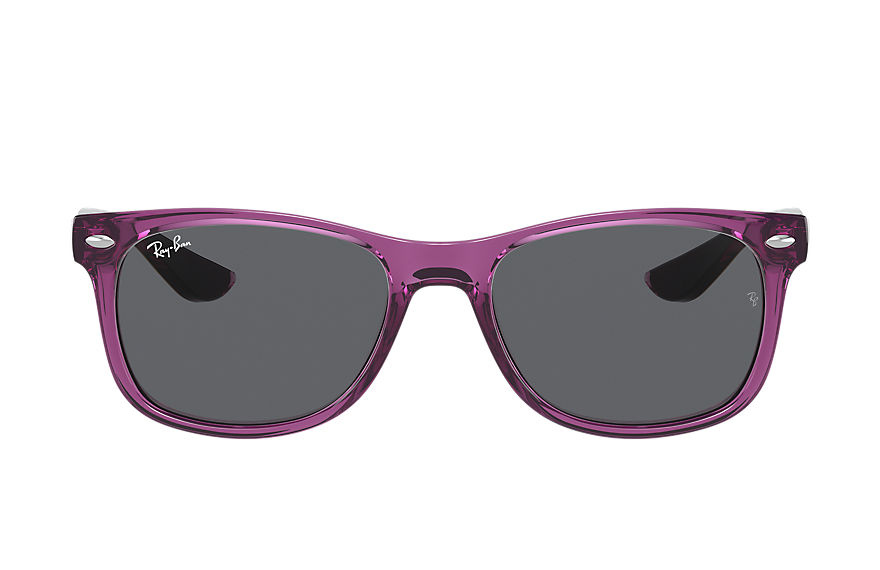 Ray-Ban  sunglasses RJ9052S UNISEX 002 new wayfarer junior transparent violet 8056597371445