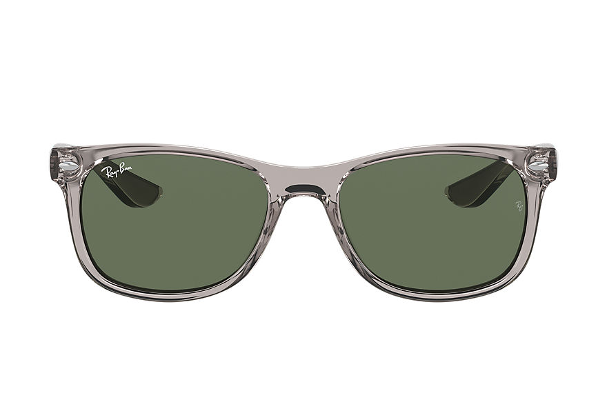Ray-Ban  sunglasses RJ9052S UNISEX 003 new wayfarer junior shiny transparent grey 8056597371469