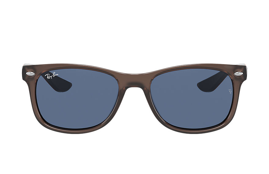 Ray-Ban  sunglasses RJ9052S UNISEX 004 new wayfarer junior shiny transparent brown 8056597371483