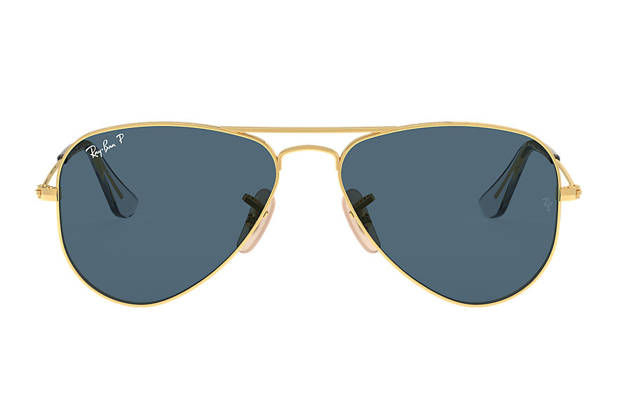 Ray-Ban  sunglasses RJ9506S UNISEX 002 aviator junior shiny gold 8056597371520