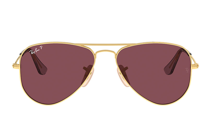 Ray-Ban  sunglasses RJ9506S UNISEX 003 aviator junior shiny gold 8056597371544