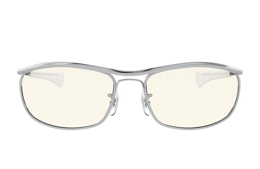 Ray-Ban  lunettes de soleil RB3119M UNISEX 002 olympian i deluxe blue light clear evolve argent 8056597377409