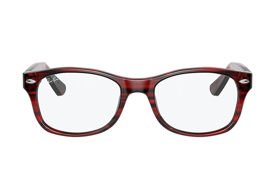Ray-Ban  eyeglasses RY1528 UNISEX 002 rb1528 striped red 8056597378536