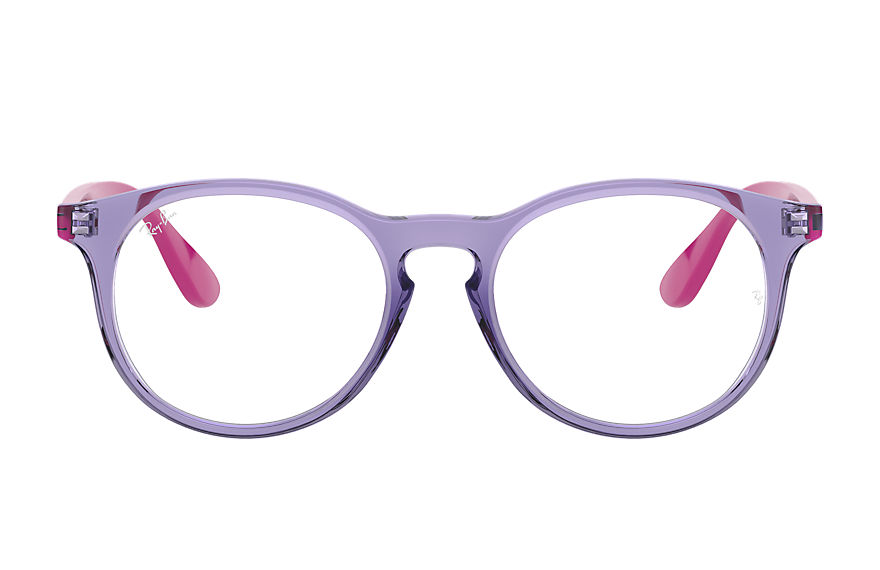 Ray-Ban  eyeglasses RY1554 UNISEX 002 rb1554 transparent violet 8056597378635