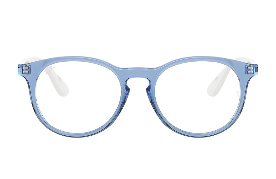 Ray-Ban  eyeglasses RY1554 UNISEX 003 rb1554 shiny transparent blue 8056597378659