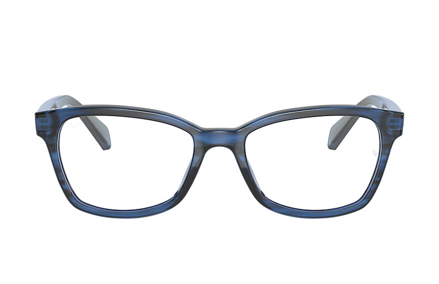 Ray-Ban Eyeglasses RB1591 Striped Blue