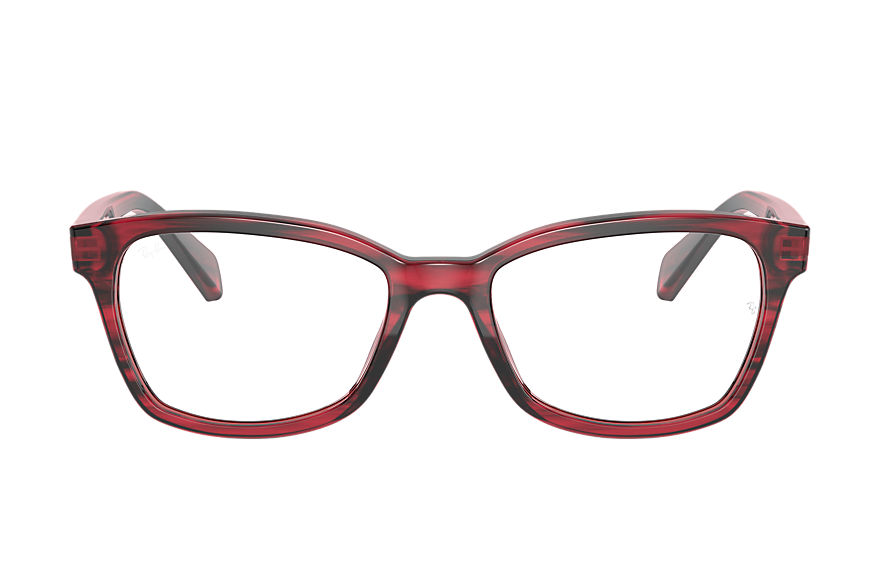 Ray-Ban  eyeglasses RY1591 FEMALE 002 rb1591 striped red 8056597378772
