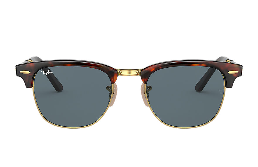 Ray-Ban  sunglasses RB2176 UNISEX 002 clubmaster folding reloaded tortoise 8056597380416