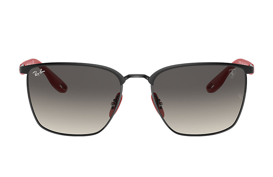 Ray-Ban Sunglasses RB3673M SCUDERIA FERRARI COLLECTION Black with Grey Gradient lens