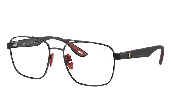 Ray-Ban Eyeglasses RB6467M SCUDERIA FERRARI COLLECTION Shiny Black