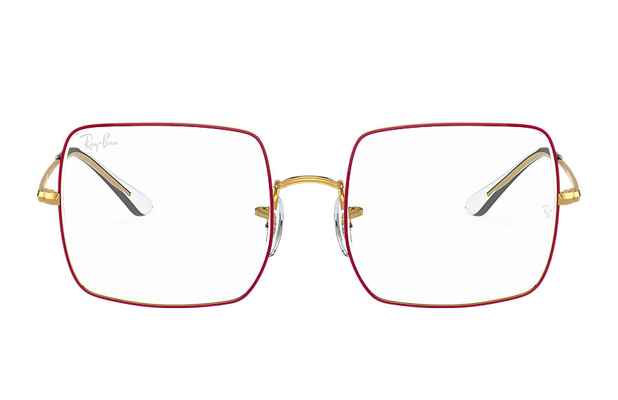 Ray-Ban  eyeglasses RX1971V FEMALE 004 square 1971 optics red 8056597387279