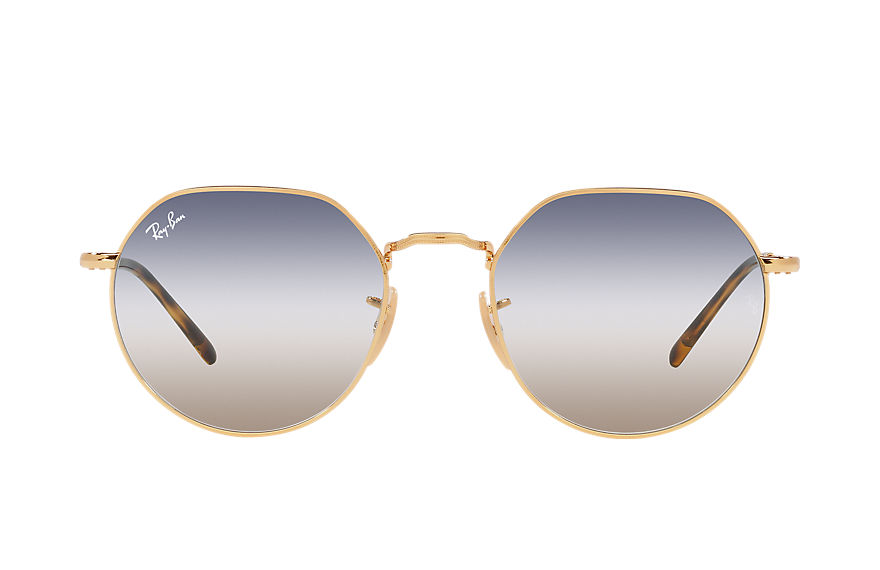 Ray-Ban  sunglasses RB3565 UNISEX 004 jack gold 8056597445139