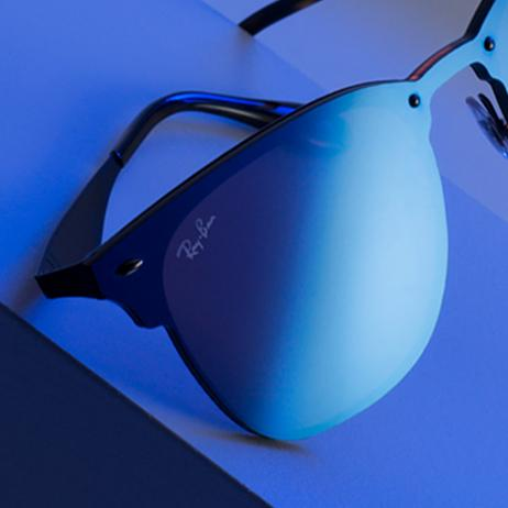 ray ban new blaze collection