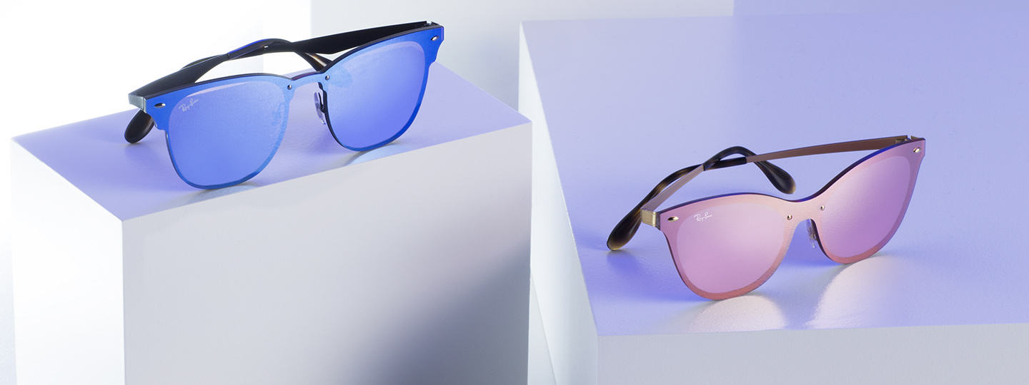 43d369fe518 Ray-Ban timeless shapes meet the brightest collection ever.