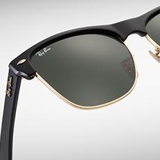 Oversized  larger lenses, same iconic style. Ray-Ban CLUBMASTER ... 405e76287d2d