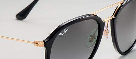 ray ban round double bridge remix