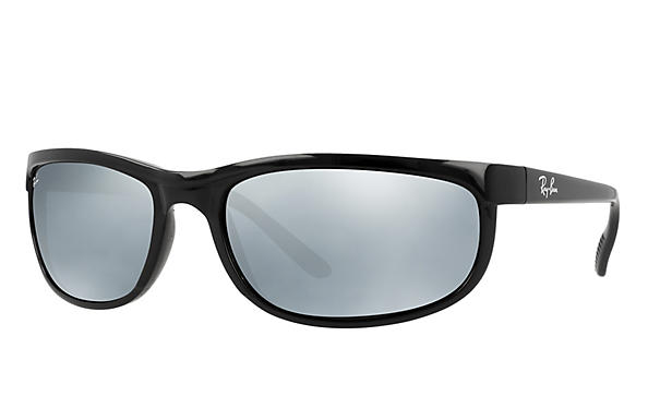 eaf5d24fe92a Ray-Ban Predator 2 RB2027 Black - Nylon - Green Prescription Lenses ...