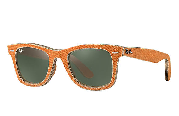 Ray-Ban 0RB2140-ORIGINAL WAYFARER Orange Denim,Orange  Orange ROX FRAME 863c27b914
