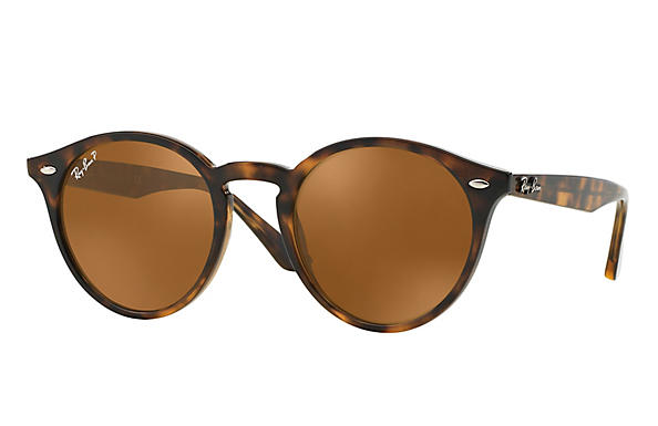 Ray-Ban  prescription sunglasses RB2180 FEMALE P005 rb2180 tortoise RX_8053672358612?roxLensPartNumber=Brown_Classic_B 15_Polar_SV