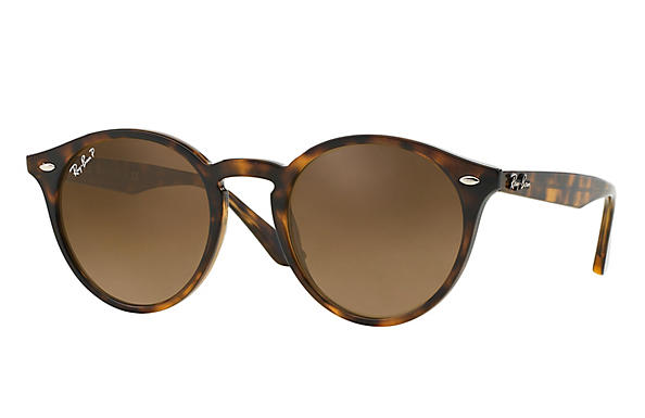 Ray-Ban  prescription sunglasses RB2180 FEMALE P005 rb2180 tortoise RX_8053672358612?roxLensPartNumber=Brown_Gradient_Polar_SV