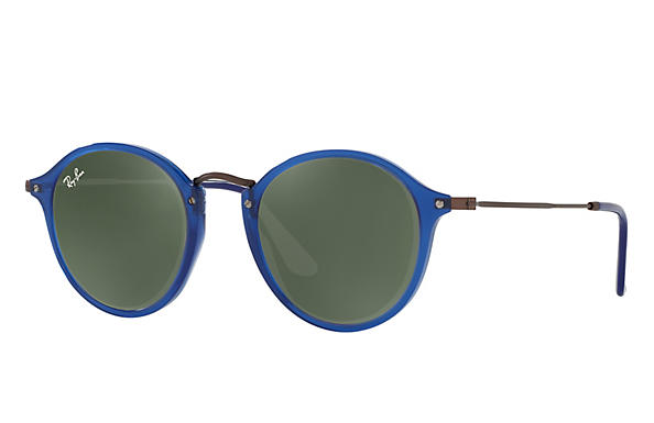 Ray-Ban 0RB2447N-RB2447N FLAT LENSES Blue; Brown ROX_FRAME