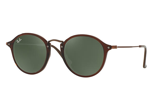 Ray-Ban 0RB2447N-RB2447N FLAT LENSES Brown; Bronze-Copper ROX_FRAME