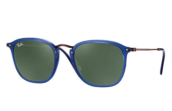 Ray-Ban 0RB2448N-RB2448N Blue; Brown ROX_FRAME