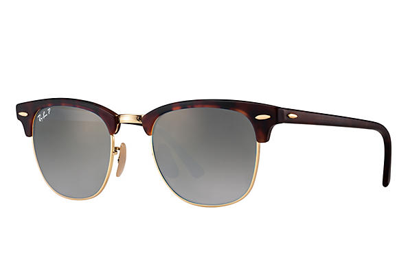 Ray-Ban 0RB3016-CLUBMASTER FLASH LENSES Tortoise ROX_FRAME